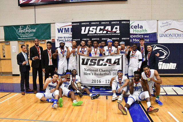 Men's Basketball Team- 2017 USCAA Champions